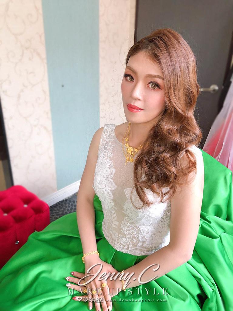 【新秘蓁妮】bride KIMI 結婚造型 / 台中鼎尚婚宴會館