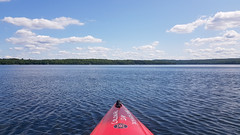 Out On The Water (Dallas K. Sanders) Tags: july19 blue sky travelswithmom galaxynote8 2019 water vacation ontario canada lake kayak summervacation huntsville