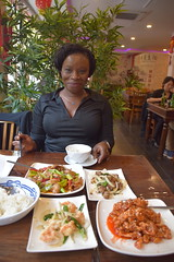 DSC_6289 The Old Street Chinese Restaurant Shoreditch London Sopie from Côte d'Ivoire Delicious Chinese Food and Tsing Tao Beer (photographer695) Tags: the old street chinese restaurant shoreditch london sopie from côte divoire delicious food tsing tao beer