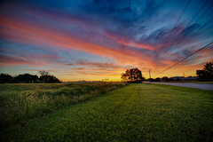 September Saturday Start (kendoman26) Tags: happytelegraphtuesday hdr nikhdrefexpro2 morrisillinois daybreak sky sonyalpha sonyphotographing samyang14mm28 sonya7mk2 sonya7ii