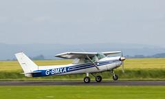 G-BMXA Cessna 152, Scone (wwshack) Tags: acsflighttraining ce152 cessna cessna152 egpt psl perth perthkinross perthairport perthshire scone sconeairport scotland gbmxa
