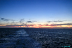 South Atlantic Ocean (Neil M Holden) Tags: southatlanticocean sunset sea redsky cruise cruising ncl worldtrekker