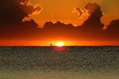 IMG_0036x (gzammarchi) Tags: italia paesaggio natura mare ravenna lidoadriano alba sole nuvola riflesso