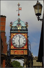 Chester Jubilee Clock (Lotsapix) Tags: chester cheshire city clock heritage victorian 1897