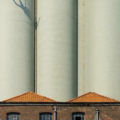 Contrast (jefvandenhoute) Tags: belgium belgië leuven light shapes geometric industrial industrialarcheology