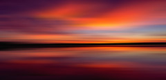 mixed emotions (Fr@ηk ) Tags: sunset colorful colors sundown endoftheday emotions mood atmosphere frnk mrtungsten62 motion blur pan manfrotto canon6d schoorl sea northsea edit ƒr㋡ηk