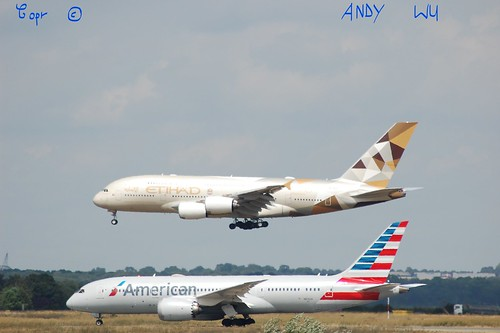 Airbus A380 Etihad Airways (08/07/2019)