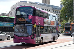 FWE 35109 @ The Centre, Bristol (ianjpoole) Tags: first west england wright streetdeck so15cuj 35109 working route 71 ashton campus bower frenchay university