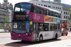 FWE 35105 @ The Centre, Bristol (ianjpoole) Tags: first west england wright streetdeck so15bua 35105 working route 71 ashton campus bower frenchay university
