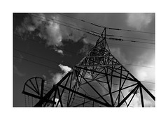 (David Ian Ross) Tags: sky cloud sunlight grid power pylon suffolk river estuary stour september parliament prorogued danger controlled inaccessible democracy suspended owned commodified uk structure system