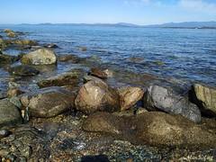1 (MarKifay) Tags: sea nature water horizon stones beach primorsky krai hills