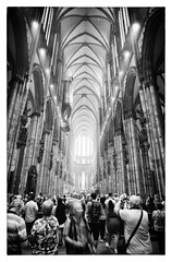 "Inside Köhl (Cologne) Cathedral- June 2019 (Heinz ""57"" Varieties of Cameras) Tags: homemadediafine trix400800 voigtlander21mmf4 leicam2"