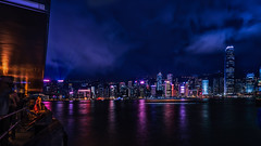 HK Harbour wallpaper - DSC0572.final 16x9 wm 2k (cleansurf2) Tags: hongkong wallpaper widescreen waterscape cityscape city cinamatic landscape reflection light longexposure night nightscape ilce7m2 urban emount water a7ii screensaver surreal sony dark glow 2k 16x9 bay b black backdrop vivid color colour cool coast contrast clouds colorful z