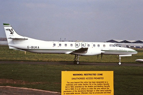 G-BUKA Metro Atlantic Airways CVT 07-04-95