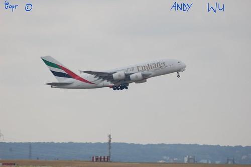 Airbus A380 Emirates (08/07/2019)