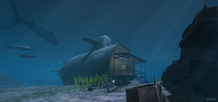 dive (Mara Telling:) Tags: sl secondlife sea ocean underwater submarine abrahamstrup