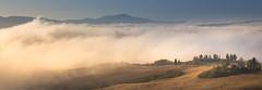 Unveiling Val d'Orcia #2 (Massimiliano Teodori) Tags: valdorcia sanquiricodorcia pienza torrenieri landscape tuscany italy fog haze mist dawn rising sun