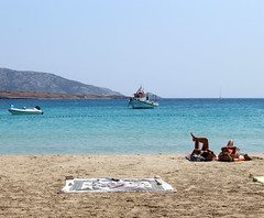 IMG_2689 (Maria Tziora) Tags: koufonisia panokoufonisi cyclades sea port beach greece holiday vacation islands tourism camping outside water aegeansea sky blue landscape