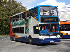 Stagecoach ADL Trident (ADL ALX400) 18404 KX06 JYF (Alex S. Transport Photography) Tags: bus outdoor road vehicle stagecoach stagecoachmidlandred stagecoachmidlands alx400 alexanderalx400 dennistrident trident adltrident adlalx400 route1 18404 kx06jyf