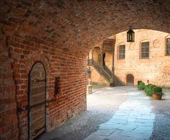 The castle courtyard (Tim Ravenscroft) Tags: tunnel courtyard brick path entrance castle gripsholm strängnäs sweden hasselblad hasselbladx1d