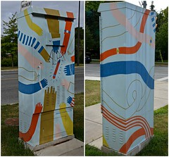 Beecroft Road and Kempford Boulevard, Outside the Box Art Project, Toronto, ON (Snuffy) Tags: outsidetheboxartproject northyork toronto ontario canada beecroftroadandkempfordboulevard musictomyeyes