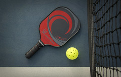 Pickleball..... (Kevin Povenz Thanks for all the views and comments) Tags: 2019 september kevinpovenz michigan hudsonville pickleball racket ball sport fun net court kitchen dink poach