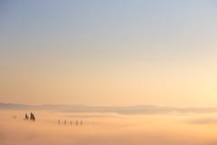 Val D'Orcia dawn (Massimiliano Teodori) Tags: valdorcia sanquiricodorcia pienza torrenieri landscape tuscany italy fog haze mist dawn rising sun