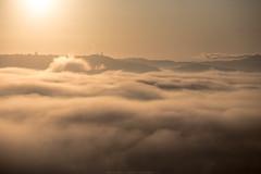 Morning (Massimiliano Teodori) Tags: valdorcia sanquiricodorcia pienza torrenieri landscape tuscany italy fog haze mist dawn rising sun