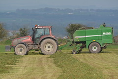 Valtra T180 Tractor with a McHale Fusion 2 Baler & Wrapper Combi (Shane Casey CK25) Tags: valtra t180 tractor mchale fusion 2 baler wrapper combi bale bales baling agco bartlemy grass grass19 grass2019 silage19 silage2019 silage harvest county cork ireland irish farm farmer farming agri agriculture work working land field machinery horsepower hp pull pulling horse power fodder contractor traktor traktori tracteur trekker trator ciągnik