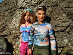 7 (MarKifay) Tags: love ken mattel barbie dolls doll sea nature water horizon stones beach primorsky krai hills basics jeans moschino