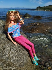 2 (MarKifay) Tags: hills krai primorsky beach stones horizon water nature sea doll dolls barbie mattel ken love basics jeans moschino