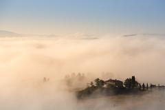 Unveiling Val d'Orcia #1 (Massimiliano Teodori) Tags: valdorcia sanquiricodorcia pienza torrenieri landscape tuscany italy fog haze mist dawn rising sun