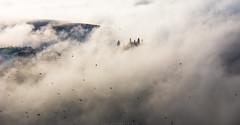 Belvedere in the clouds (Massimiliano Teodori) Tags: valdorcia sanquiricodorcia pienza torrenieri landscape tuscany italy belvedere gladiator movielocation fog haze mist dawn rising sun