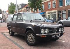 1977 Alfa Romeo Giulia 1300 S (rvandermaar) Tags: 1977 alfa romeo giulia 1300 s alfaromeogiulia alfaromeo alfagiulia sidecode3 import 06yd27