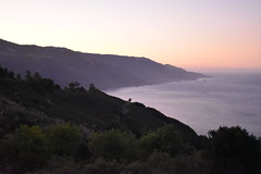 View from New Camaldoli - morning light (Travels with Michael) Tags: hiking trail bigsur big sur california seaside ocean sea coast coastline nch new camaldoli camaldolese sunrise morning