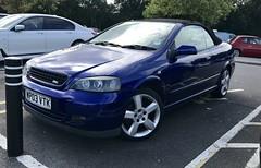 (Sam Tait) Tags: vauxhall astra bertone convertible 2003 mk4 blue petrol 18 16v
