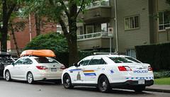 RCMP 2014 Ford Taurus Police Interceptor (D70) Tags: burnaby britishcolumbia canada 2014 ford taurus police interceptor subaru legacy rcmp grc