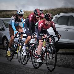 Stage Leaders (MMiPhoto) Tags: cycling ovo skoda roundbritain weardale roadracing stanhope fuji xt3 ovoenergytourofbritain