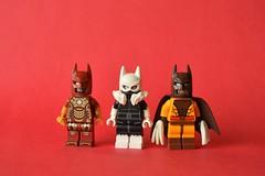 Marvel Bats (th_squirrel) Tags: lego dc comics batman marvel versions iron man black cat sabretooth
