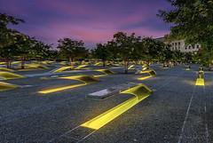 Dawn at the Pentagon 9/11 Memorial (D. Scott McLeod) Tags: