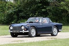 Triumph TR4A (Roger Wasley) Tags: triumph tr4a prp171d 1966 toddington classic car vehicle