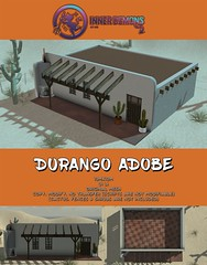 {ID} Durango Adobe (Inner Demons) Tags: innerdemons building build sl secondlife decor design original mesh unique 3d event tlalli exclusive {id} house adobe