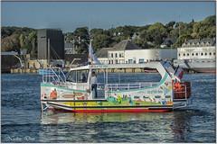 Le P'tit bac - Concarneau (Nadine.Dvx) Tags: concarneau concarneaulavilleclose concarneauleport bateaux voiliers france bretagne finistère leptitbac