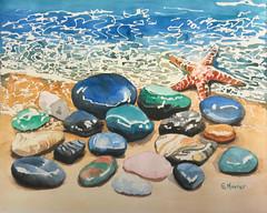 The Starfish (GayleMaurer006) Tags: starfish polished rocks seacoast