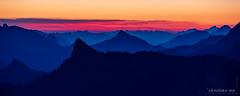 Aube sur les préalpes (Switzerland) (christian.rey) Tags: mountains sunrise soleil swiss sony fribourg alpha 70200 lever montagnes leverdesoleil aube gruyère moléson préalpes dentdubourgo bourgo a7rii a7r2 fribougoises exquisitesunsets