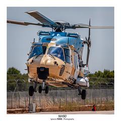 NH90 (Ignacio Ferre) Tags: nh90 nhindustries helicóptero helicopter spotting losllanos albacete leab nikon aircraft airplane aeronave aviation aviación famet spanisharmy