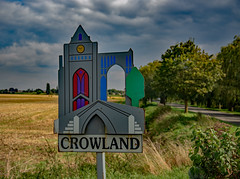 Welcome to Crowland.jpg (uplandswolf) Tags: crowland lincs lincolnshire fen fens fenland