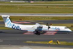 Flybe G-ECOJ De Havilland Canada DHC-8-402Q Dash 8 cn/4229 @ Düsseldorf Airport EDDL / DUS 16-06-2017 (Nabil Molinari Photography) Tags: flybe de havilland canada dhc8402q dash 8 cn4229 eddl dus 16062017 gecoj düsseldorf airport