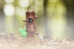 LEGO Evil Apple Tree (weeLEGOman) Tags: lego uk macro tree robert apple monster toy photography nikon evil rob creepy minifigure 105mm d7100 trevissmith weelegoman horror halloween