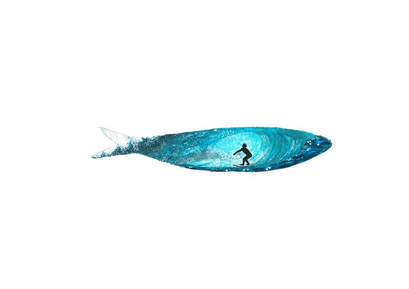 wave sardine
